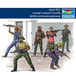 Trumpeter 00438 1/35 African Freedom Fighters Figure Plastic