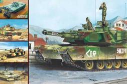 Trumpeter 01535 1/35 US M1A1/A2 Abrams Main Battle Tank Panz