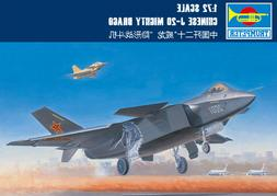 Trumpeter 01663 1/72 Chinese Chengdu J-20 Mighty Dragon Airc