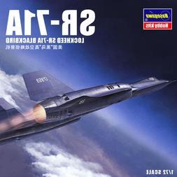 Hasegawa 02278 1/72 US Lockheed SR-71A Blackbird SPY Plane M