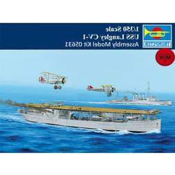 Trumpeter 05631 1/350 Scale USS Langley CV-1 Military Assemb