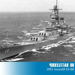 Trumpeter 05705 1/700 US BB-63 Missouri Battleship 1991 Stat