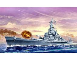 Trumpeter 05761 1/700 USS Massachusetts BB-59 Static Warship