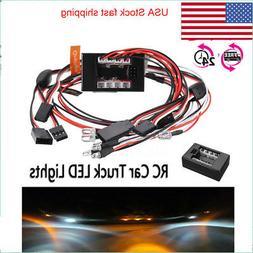 1:10 RC Model Car truck LED Light Kit 12 LED Flashing Head L