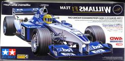TAMIYA 1/10 RC Williams BMW FW24 Formula Racing Car 4WD Mode
