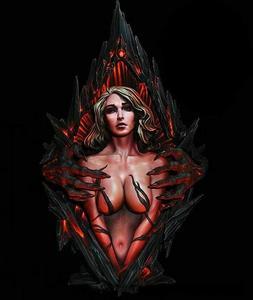 1/10 Resin Figure Bust Fantasy Captive Woman Female Lost Sou