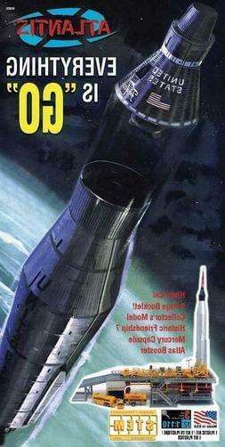 Atlantis Model Company 1/110 Atlas Missile Mercury Plastic M