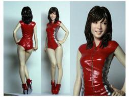 1/12 Scale Resin Figure Model Kit Racing Asian Sexy Girl Fem