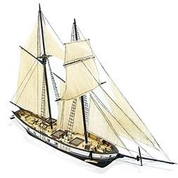 CAVEEN 1:130 DIY Ship Assembly Model Kits Classical Wooden S