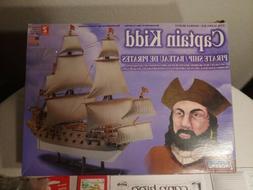 Lindberg 1/130 scale Captain Kidd Pirate Ship Model Kit