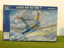 Trumpeter 1/144 F-86F-30-NA Sabre Plastic Model Kit 1320 TSM