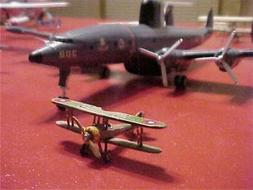 1/144 MODEL COLLECTION CANVAS 8 -- NIEUPORT 28