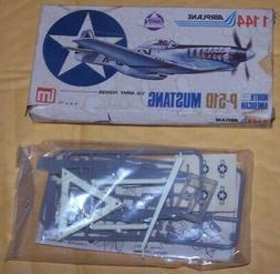 1/144 P-510 MUSTANG AHM AIRPLANE MODEL KIT SERIES # 7