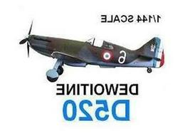 1/144 RESIN KIT DEWOITINE D520 WWII FRENCH FIGHTER