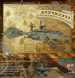 Alliance Model Works 1:144 Steam Punk Submarine Resin Kit #F