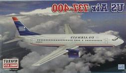 Minicraft 1:144 US Air 737-400 Plastic Aircraft Model Kit #1