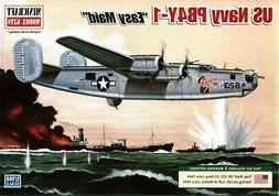 Minicraft 1:144 US Navy PB4Y-1 Easy Maid Plastic Model Kit #