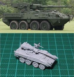 1/144 USA M1128 Stryker MGS Tank Destroyer Resin Kit