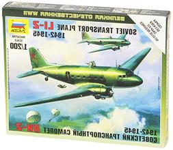 Zvezda Models 1/200 Li-2 Soviet Transport Plane