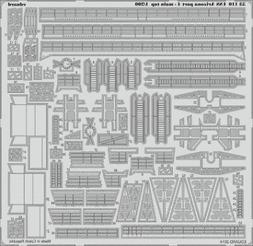 Eduard 1:200 USS Arizona part 4 - Main top PE Detail Set For