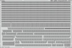 Eduard 1:200 USS Arizona part 5 - Railings PE Detail Set For