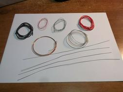 1/24 -- 1/25 SCALE MODEL WIRING KITS - NEW ))))