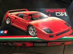 Tamiya 1/24 Ferrari F40 Car Model Kit # 24104