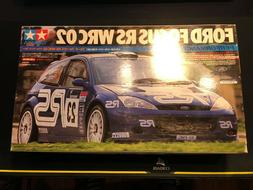 TAMIYA 1/24 Ford Focus RS WRC 02 Performance Blue Model Kit