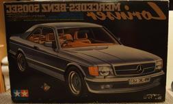 Tamiya 1/24 - Mercedes-Benz 500SEC Lorinser Model - NIB, Vin