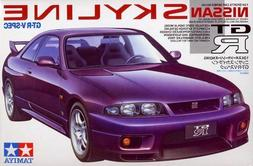 Tamiya 1/24 Nissan Skyline GT-R V-Spec Plastic Model Kit TAM