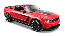 Maisto 1:24 Scale Assembly Line 2012 Ford Mustang Boss 302 D