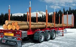 Italeri 1/24 Timber Trailer Plastic Model Kit 3868 ITA3868