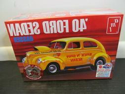 AMT 1/25 1940 Ford Sedan Gasser Plastic Model Kit AMT1088