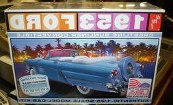 1 25 1953 ford convertible plastic model