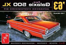 1:25 AMT 1963 Ford Galaxie  Stock Custom Advance  Plastic Mo