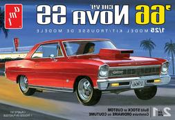 1:25 AMT 1966 Chevrolet NOVA SS  Stock Custom Plastic Model