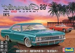 Revell 1:25 1966 Chevy Impala SS 396 2N1 Plastic Model Kit 8