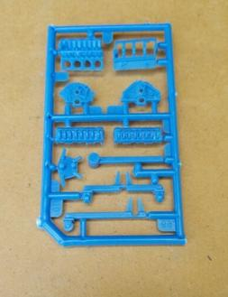 AMT 1/25 1966 CHEVY NOVA PRO STREET ENGINE STAND AND ENGINE