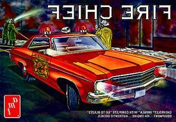 1:25 AMT 1970 Chevrolet IMPALA *FIRE CHIEF'S CAR* *PLASTIC M