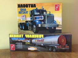 AMT 1/25 Autocar A64B Tractor and AMT 1/25 Scale Shell Tanke