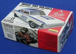 Lindberg 1/25 Color Me Gone 1964 Dodge Stock Car Kit MINT