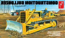 1:25 AMT CONSTRUCTION BULLDOZER CRAWLER Plastic Model Kit *N