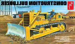 1:25 AMT CONSTRUCTION BULLDOZER CRAWLER Plastic Model Kit *N