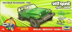 Revell 1:25 Jeep Wrangler Rubicon Plastic Model Kit #1686