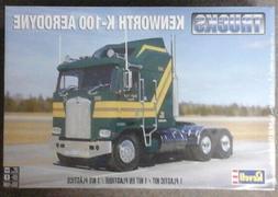 Revell 1/25 Kenworth K-100 Aerodine Big Rig Plastic Truck Mo