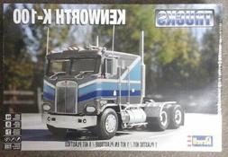 Revell 1/25 Kenworth K-100 Big Rig Plastic Truck Model # 85-