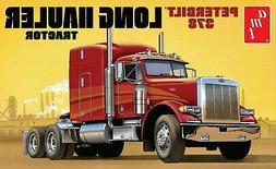 1:25 AMT PETERBILT 378 Long Hauler Semi Truck Plastic Model