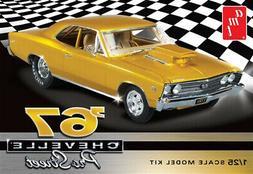 AMT 1:25 Scake 1967 Chevy Chevelle Pro Street Model Kit AMT8