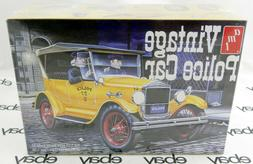 AMT 1/25 Scale 1927 Ford T Police Car Plastic Model Kit AMT1