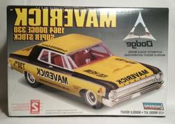 Lindberg 1:25 Scale Maverick 1964 Dodge 330 Super Stock Plas